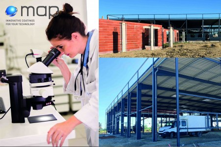 Adaptation and reactivity: MAP Coatings intends to resume its regular activities in June